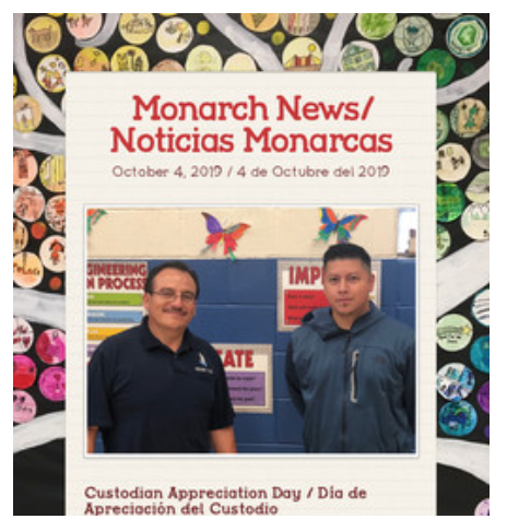 This Week's Monarch News