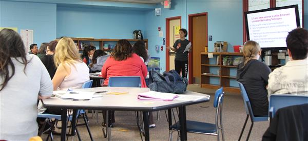 DISTRICT 112  STAFF MEMBERS RECEIVE ALICE TRAINING