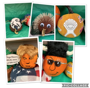Staff Pumpkins